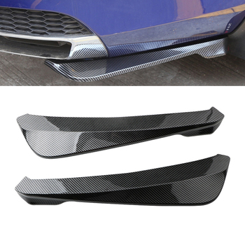 Universal Car Rear Bumper Lip Angle Splitters Diffuser Decorative for BMW E60 E90 E91 E92 E36 E30 E39 E46 X5 E53 E70 F10 F30 F20 image