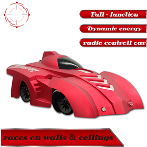 Wall-climbing RC Car Electric 360 Rotating Stunt Remote Control Car Gripping Force Ceiling Climbingimbing Car Toys for Children