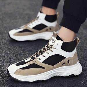 Image 5 - BIGFIRSE אופנה נעליים לגברים מותג מגמת חיצוני מגמת נעלי גבר פנאי נעלי סתיו Zapatillas Hombre 2019 גברים סניקרס