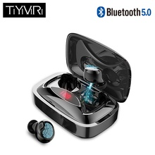 TiYiViRi x29 TWS Bluetooth headphone 6D stereo wireless sport earphone with microphone handsfree  In-ear Hifi Sport Earphone