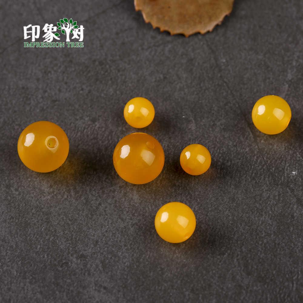 เลือกขนาด 4/6/8/10/12/14 มม.1 ชิ้นอัญมณีรอบสีเหลือง agates Druzy ลูกปัดสร้อยข้อมือ DIY เครื่องประดับทำ 2013