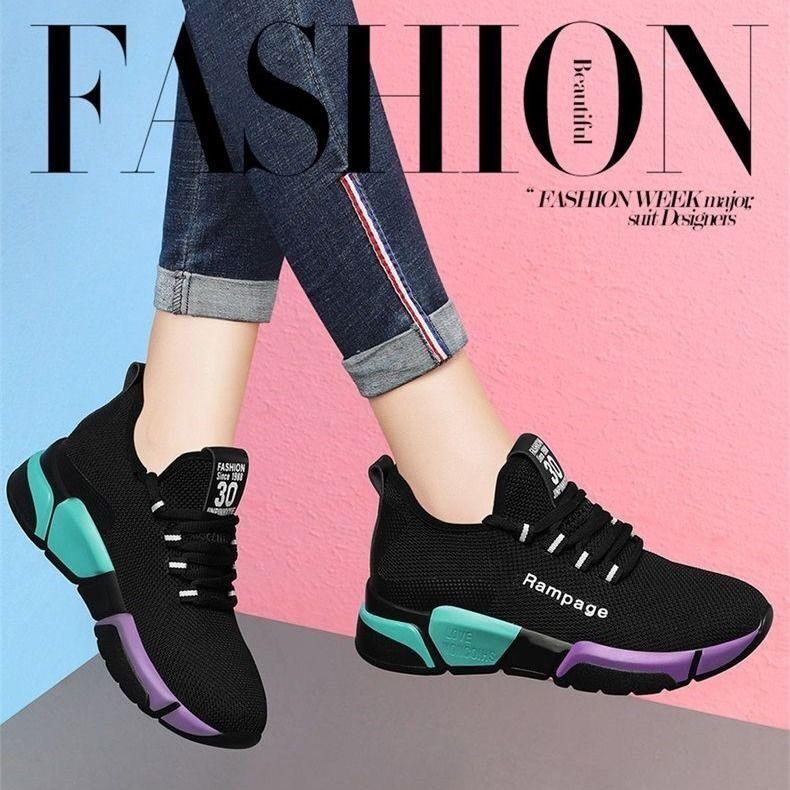 Tenis Feminino 2020 Fashion Women Vulcanized Shoes Sock Sneakers Spring Summer Flat Shoes Women Loafers Walking Sports Shoes