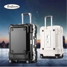 BeaSumore Многофункциональный чемодан на колёсиках,, алюминиевая рама, тележка для женщин и мужчин, 20 дюймов, чемодан на колесиках