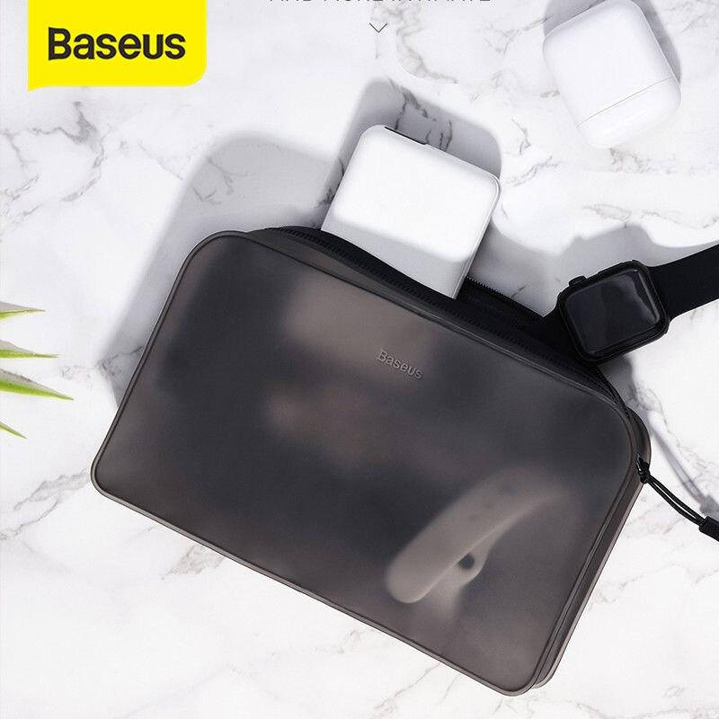 Baseus universal caso do telefone saco para o iphone xs max xr x 8 7 bolsa de telefone à prova dwaterproof água para samsung galaxy s10 s9 saco de telefone