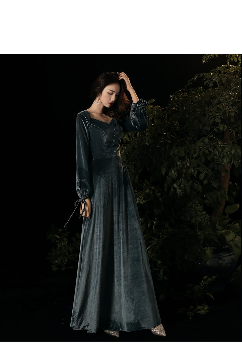 vestido de festa à noite vestido vintage