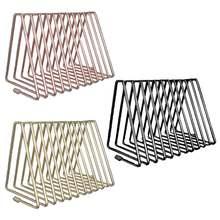 Треугольная полка для хранения файлов выдвижная книжная подставка