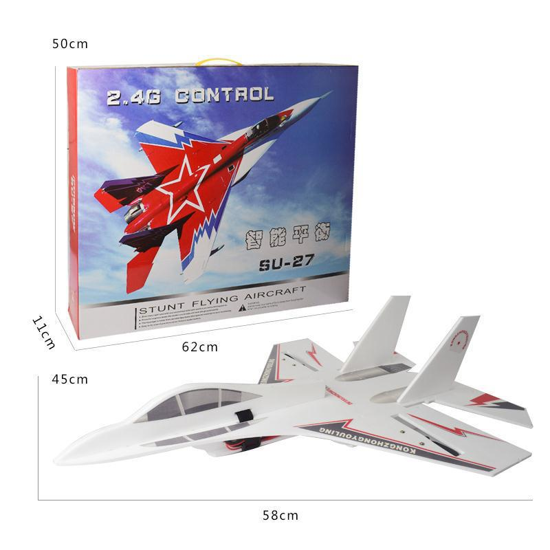 Ultra Large Remote Control Aircraft Gliding Unmanned Aerial Vehicle Model Airplane Wing Su-27 Fighter Plane Aerial Photography F