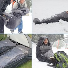 цена на 2020Autumn Winter Waterproof Warm Mummy Sleeping Bags Sport Hiking Outdoor Camping Ultra Light Thickening Duck Down Adult