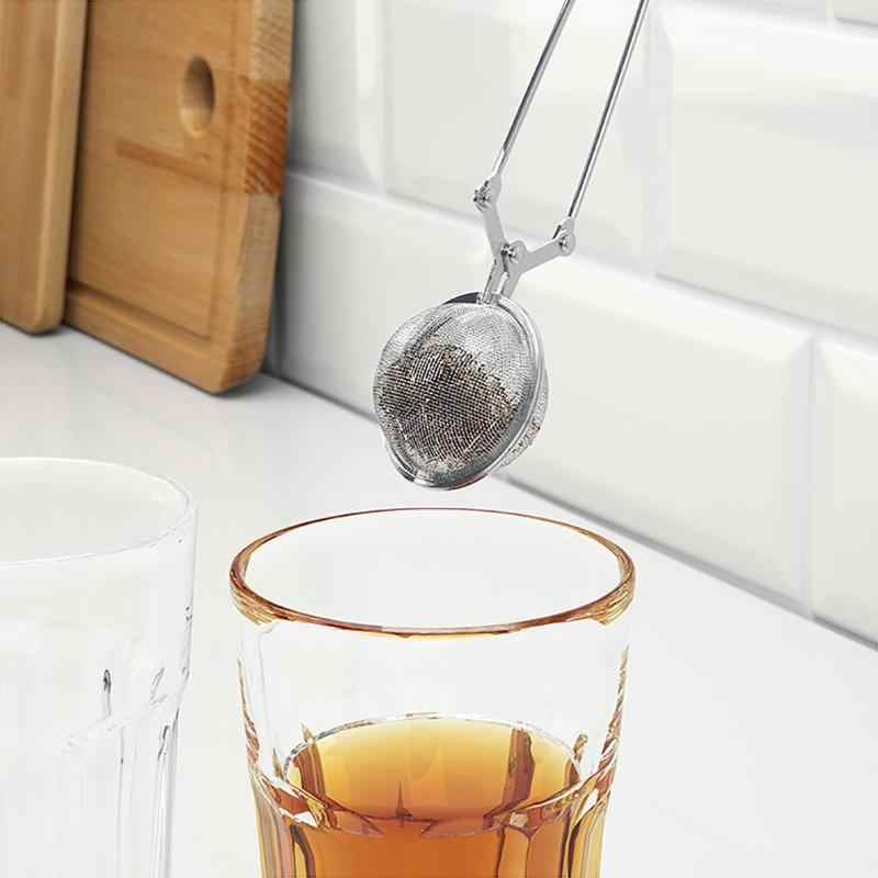 Stainless Steel Handle Mesh Ball Tea Strainer Tea Infuser Spice Filter