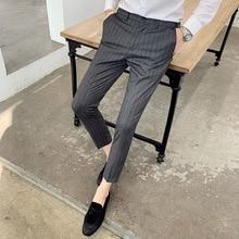 2020 Business Formal Wear Men Pant Dress Pants Cas