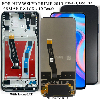 Display For Huawei Y9 Y 9 Prime 2019 STK-L21,L22,LX3 Lcd Display TouchScreen Replacement For Huawei P Smart Z STK-LX1 LCD Screen