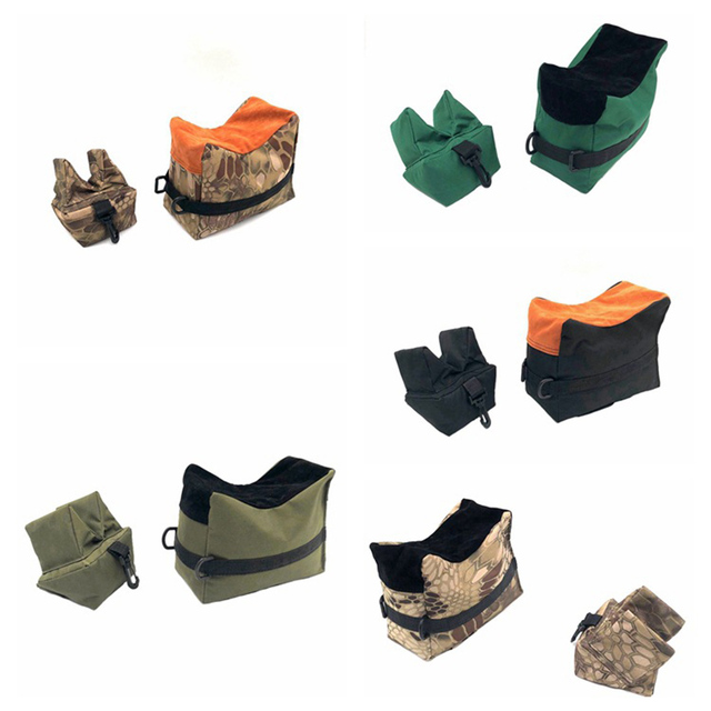 Front&Rear Bag Support Rifle Sandbag without Sand Sniper Hunting Target Stand Hunting Gun Accessories 3