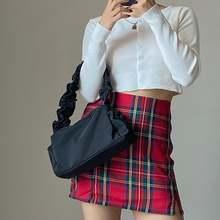 Винтажные женские маленькие сумки на плечо модные Нейлоновые