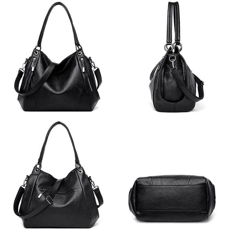 Tas Selempang untuk Wanita Lembut Kulit Mewah Tas Tangan Wanita Tas Desainer Wanita Bahu Messenger Tas Totes Top-Handle Bag sac