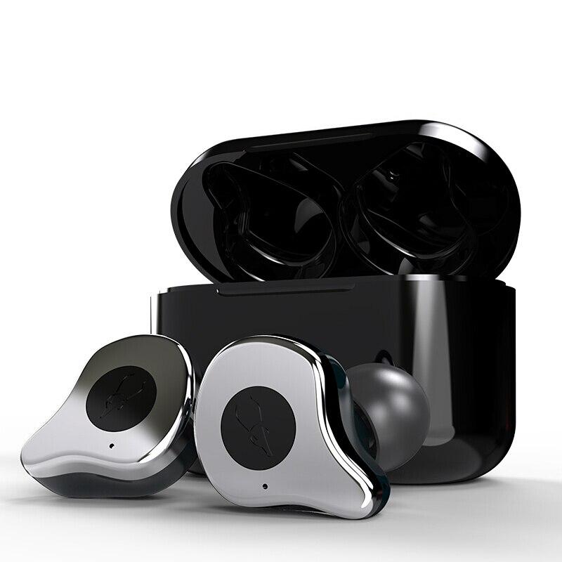 Sabbat E12 Bluetooth 5,0 настоящие беспроводные наушники, беговые наушники, свободные руки, 3D стерео звук, наушники, зарядная коробка для телефона X12