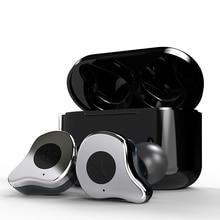 Sabbat E12 Bluetooth 5.0 Echte Draadloze Oordopjes running hoofdtelefoon Handsfree 3D Stereo Geluid Koptelefoon Opladen Doos voor Telefoon X12