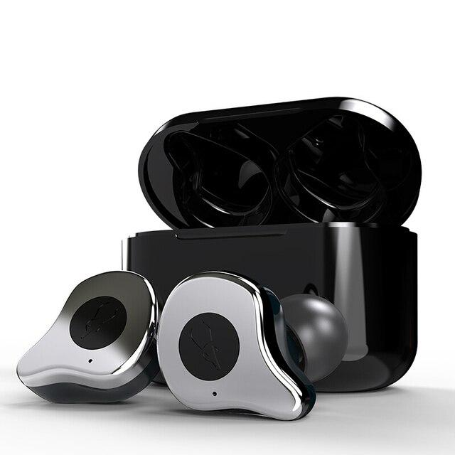 Sabbat E12 Bluetooth 5,0 Wahre Drahtlose Ohrhörer läuft kopfhörer freisprecheinrichtung 3D Stereo Sound Kopfhörer Lade Box für Telefon X12