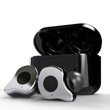 Sabbat auriculares E12 inalámbricos con Bluetooth 5,0, dispositivo manos libres con sonido estéreo 3D y cargador para teléfono X12