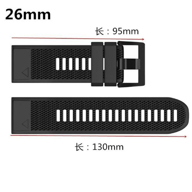 FIFATA Smart Watch Band Straps For Garmin Fenix 6 6S 6X 5X 5 5S 3 3HR Forerunner 935 945 Quick Release Strap Silicone Bracelet 5
