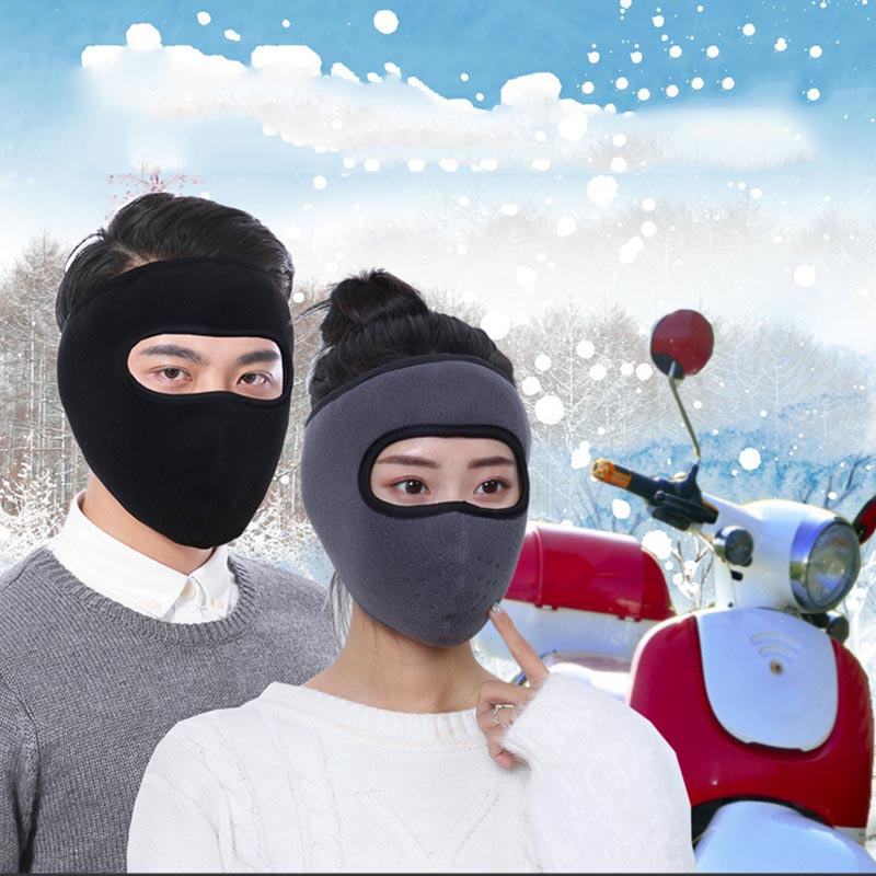 2019 Full Face Cover Mask Motorcycle Balaclava Warmer Windproof Breathable Cycling Ski Biker Shield Winter Mask For Women Men