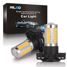 Amarelo âmbar erro livre py24w 5200s lâmpadas led sinal de volta para bmw e90/e92 3 f10/f07 5 series e83/f25 x 3 e70 x5 e71 x6 z4 gt
