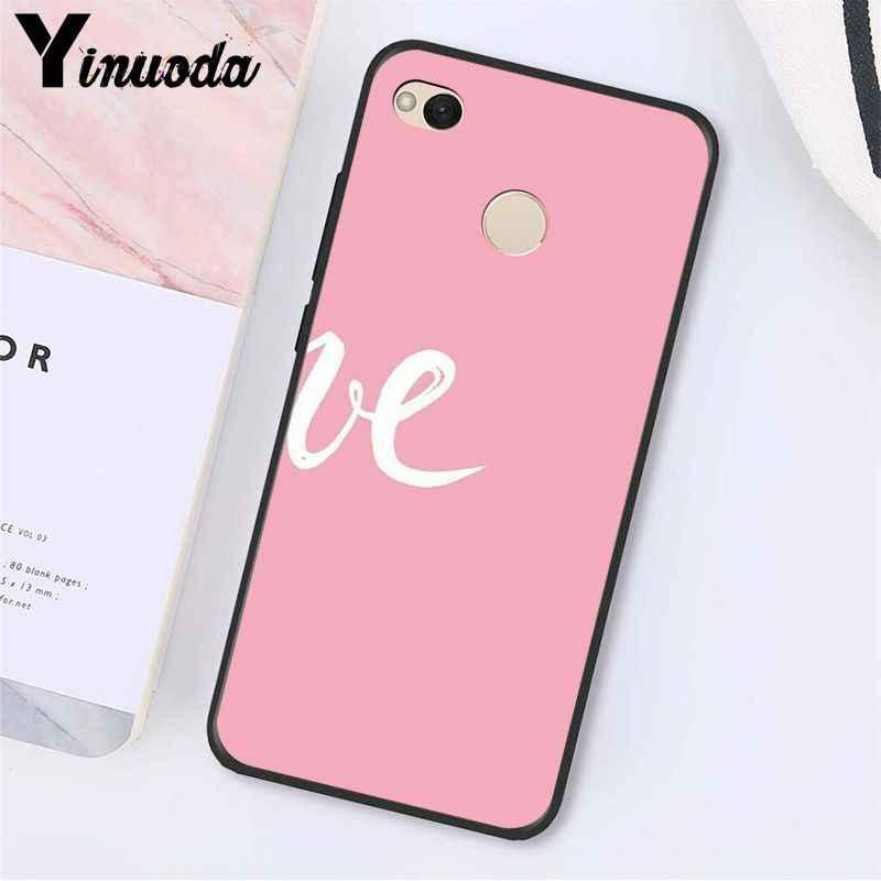 Caixa Do Telefone para Xiaomi mi5 Note3 Yinuoda Amor melhor Amigo 6 A1 A2 Lite Mi9 9SE mi8lite 8explorer