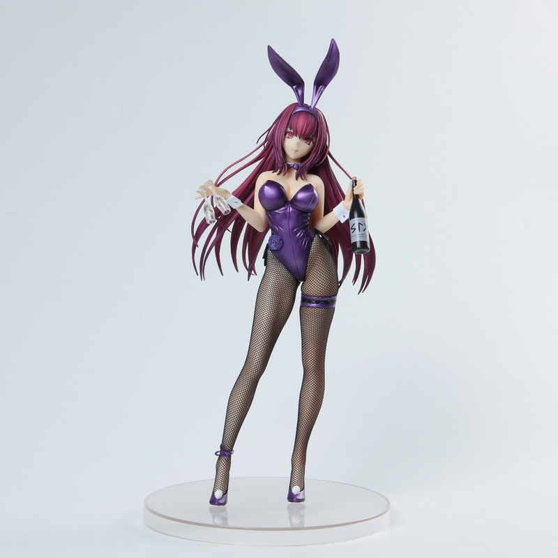 Fate/Grand Order Scathach Lancer Alter Sashi Ugatsu Soft Bunny Girl Sexy Girls Action Figure Japan Anime PVC Adult Action Figure
