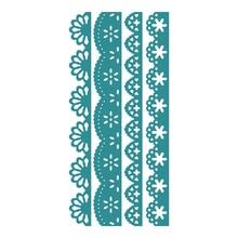 YaMinSanNiO Flower Border Dies Metal Cutting Craft Die Cut DIY New 2019 Scrapbooking Card Embossing Template Stencil