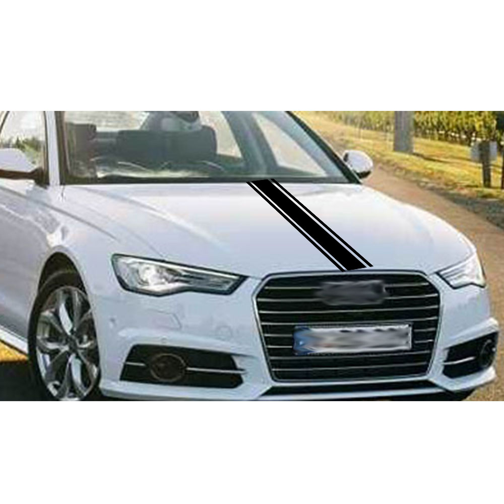 120CM Car hood The front cover Sticker Back glue waterproof car Beautiful decoration decals