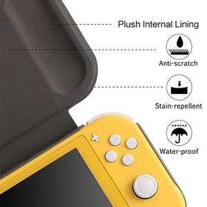 Image 3 - Switch Lite Protection Case Non slip Scratch Game Grip Case Cover PC Leather Shell For Nintend Switch Lite Console Accessories