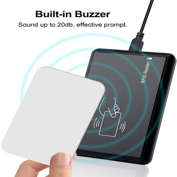 Hot RFID Card Reader USB RFID Card 125khz Contactless Proximity Sensor Smart ID Card Reader EM4100 Sensitivity Smart Card Reader цена 2017