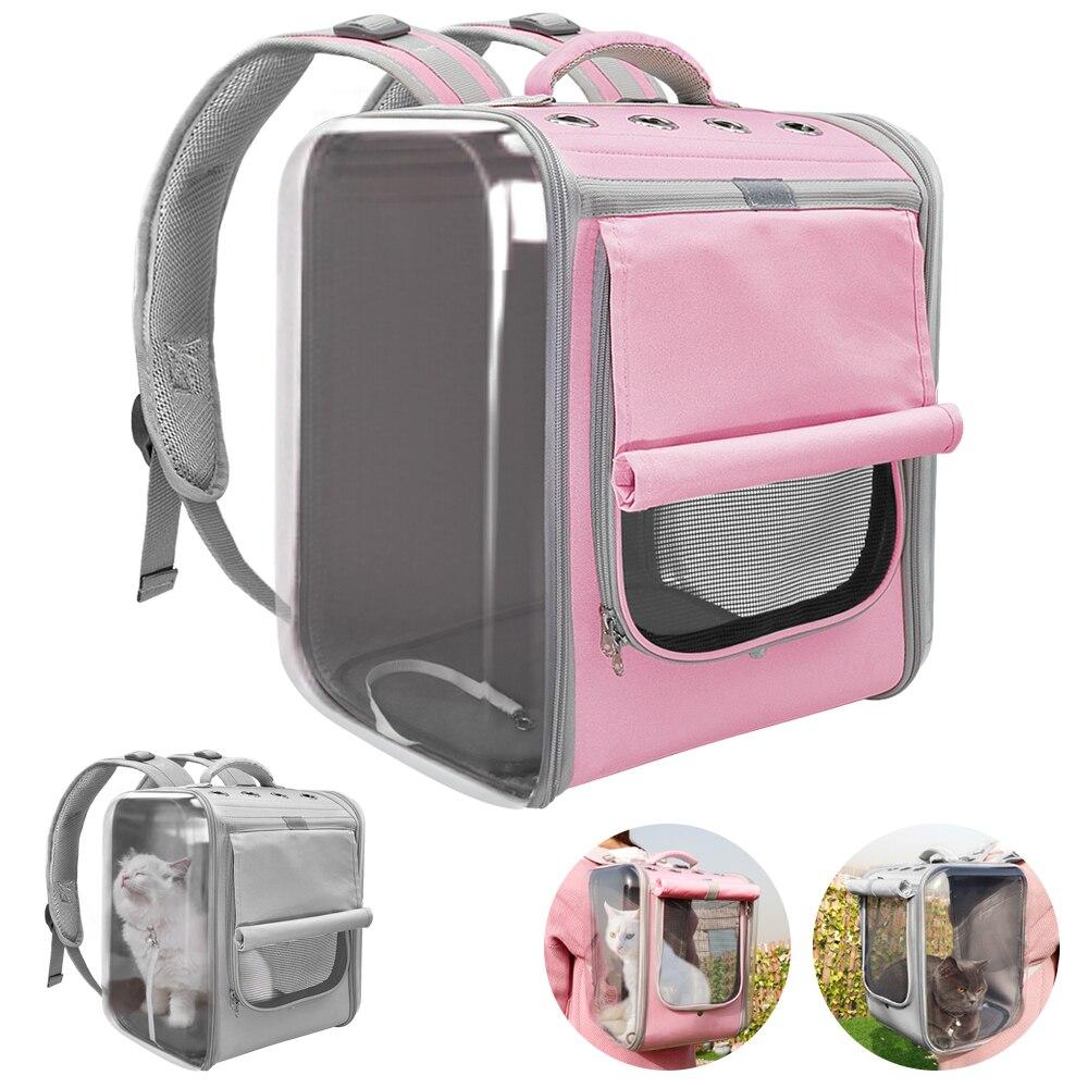 Evcil hayvan taşıyıcı köpekler kedi için nefes köpek sırt çantası kedi taşıyıcı taşıma çantası taşınabilir köpek açık seyahat çantası Yorkie Chihuahua