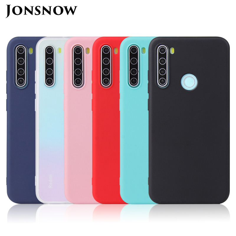 Pure Color Matte Case for Xiaomi Redmi Note 8T Note 8 Pro Candy Color Soft Silicone Cases for Redmi 8 8A Skin Gel Back Cover