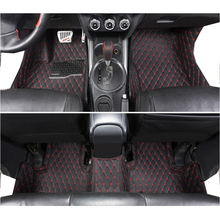 lsrtw2017 leather car interior floor mat for mitsubishi RVR asx Outlander Sport 2010-2020 2019 2018 2016 2017 2015 2014 styling lsrtw2017 leather car trunk mar cargo liner for mitsubishi outlander sport asx rvr 2011 2012 2013 2014 2015 2016 2017 2018 2019