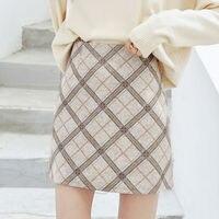 Теплая юбка в клетку Цена от 883 руб. ($10.95) | 1 заказ Посмотреть