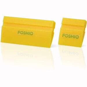 Image 5 - FOSHIO 2 Chiếc Xe Tinting Dụng Cụ Cao Su Chống Sóc Lưỡi Dao Cửa Sổ Tint Phim Lắp Đặt Vinyl Bọc Sạch Gạt Nước Lau Tuyết xẻng