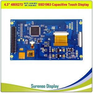 "Image 2 - 4,3 ""480*272 SSD1963 Kapazitive/Resistive Touch 16_Bit MCU TFT LCD Modul Display Panel"