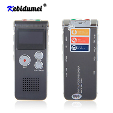 Kebidumei New Mini USB Flash Pen 8GB 3 in 1 Disk Drive Digital Audio Voice Recorder 650Hr Dictaphone 3D Stereo MP3 Player