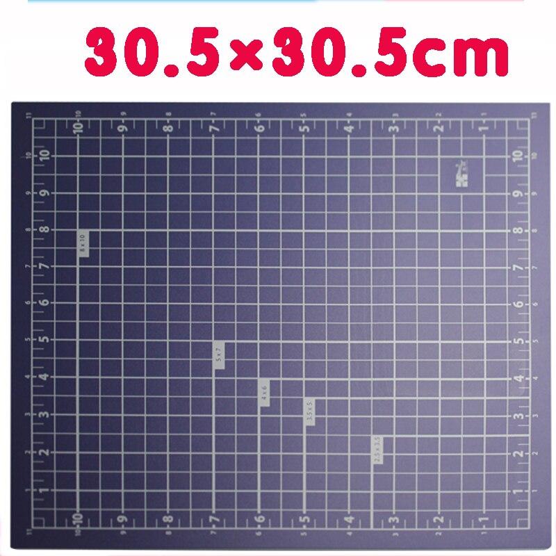 Pvc Cutting Board Environmental Protection White Core 30.5 * 30.5cm Cutting Pad Engraving Board Desktop Pad Board Knife Board