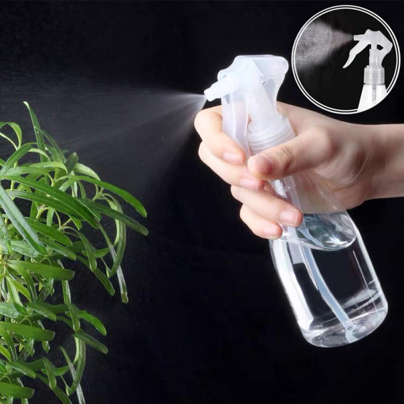 Прозрачная пластиковая бутылка-распылитель 200 мл, портативный пластиковый многоразовый контейнер, пустые косметические контейнеры, электр...
