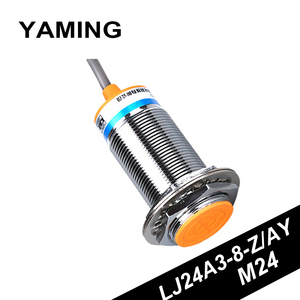 Proximity Switch Inductance Type Near Induction Switches Sensor DC24V Direct NO/NC Three Line PNP M24 LJ24A3-8-Z/AY