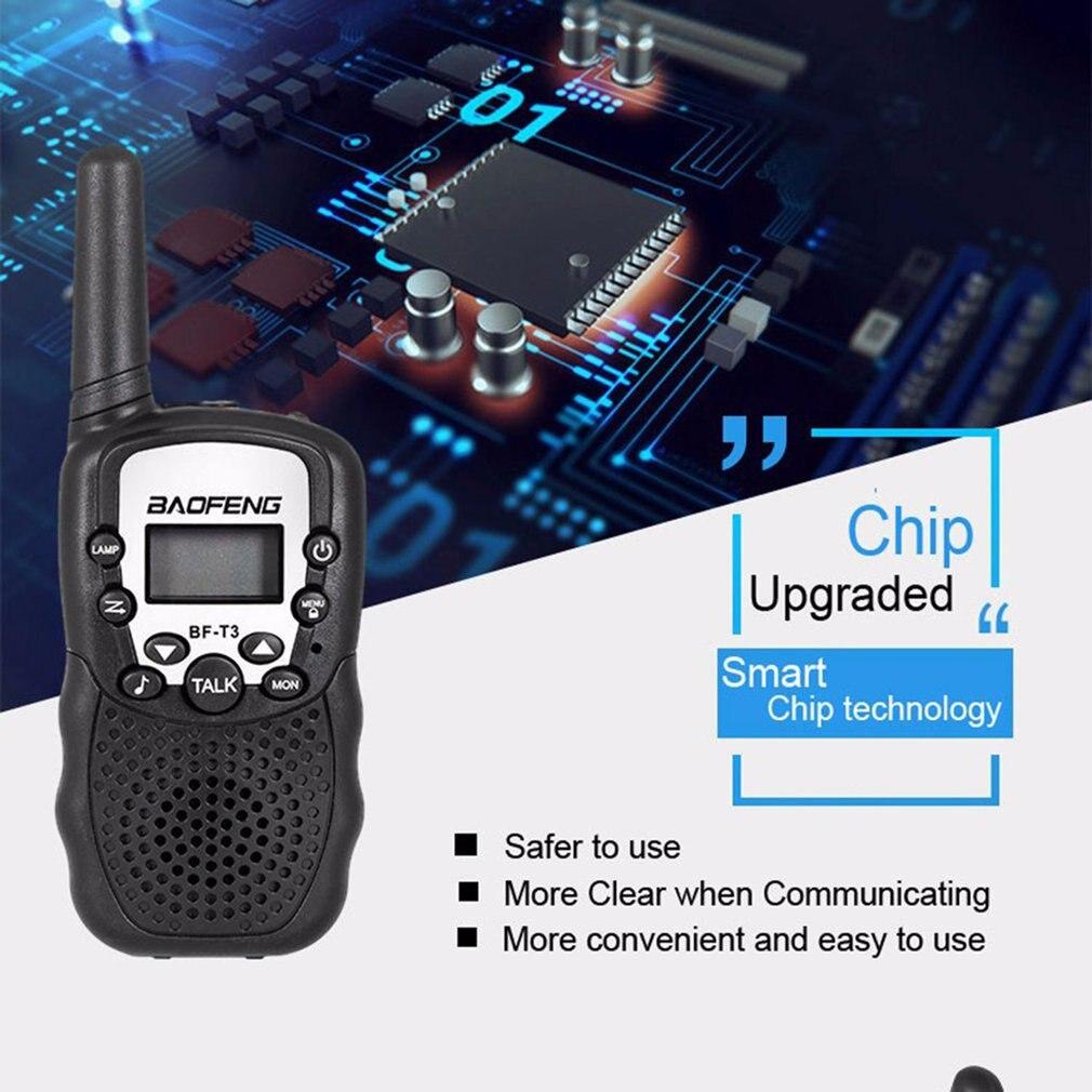 2 Stuks Baofeng BF-T3 Pmr446 Walkie Talkie Beste Gift Voor Kinderen Radio Handheld T3 Mini Draadloze Twee Manier Radio Kids speelgoed Woki Toki 2