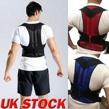 Регулируемый магнитный Корректор осанки для мужчин и женщин, мужской корсет, пояс для поддержки спины, поясничная поддержка, спортивный безопасный прямой корректор