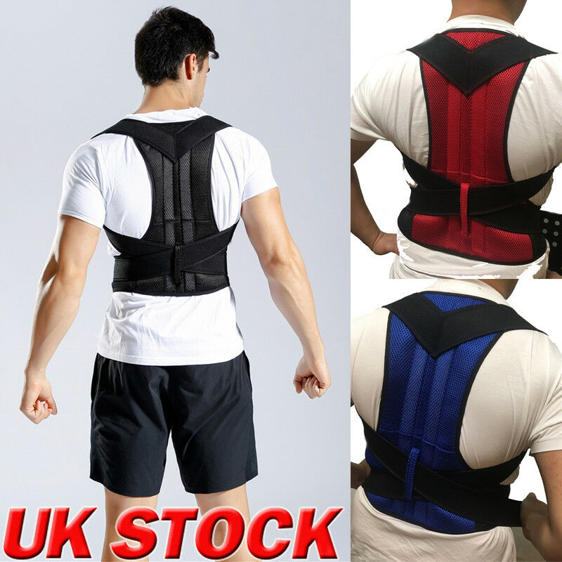 Men Women Adjustable Magnetic Posture Corrector Male Corset Back Support Belt Lumbar Support Sports Safety Straight Corrector