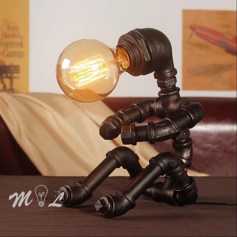 deco industrial lampada ao lado quarto estudo decoracao led camas 04