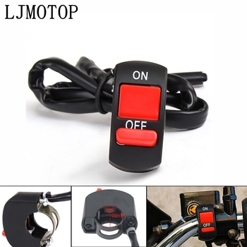 Universal Motorcycle Switches Connector Handlebar Switche ON/OFF Button For Suzuki GSXS750 GSXR600 GSXR750 RM85 RM125 RM250 image