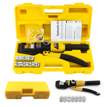 Hydraulic Crimping Tool 4-70mm2 Cable Lug Crimper Plier Hydraulic Compression Tool YQK-70 Pressure 5-6T Cable Crimping Too - DISCOUNT ITEM  71 OFF All Category