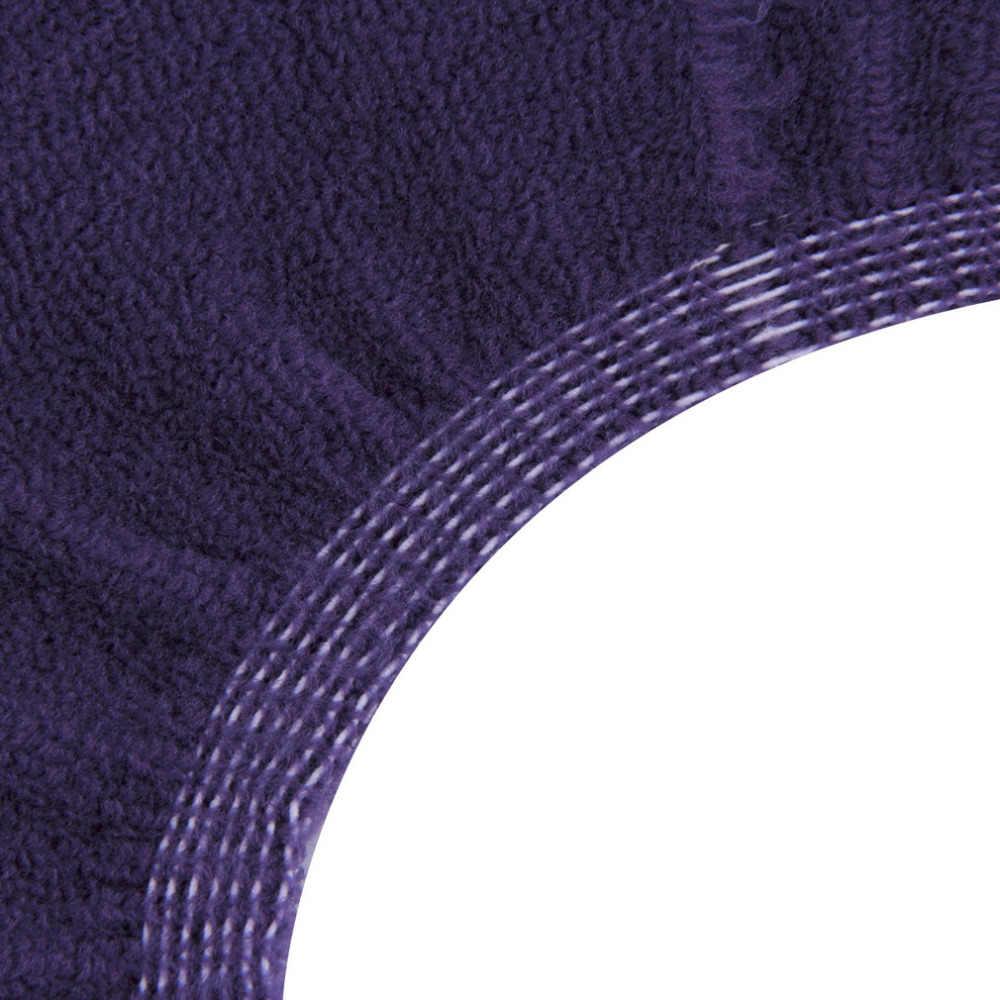 1pc zmywalna tkanina w kształcie litery O ciepły pokrowiec na deskę sedesową mata Pad do łazienki najnowszy New Arrival