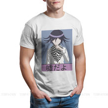 Uso Dayo Kokichi Ouma Hip Hop TShirt Danganronpa Makoto naoli Monokuma Casual T-shirt taglie forti T-shirt più recente per uomo donna