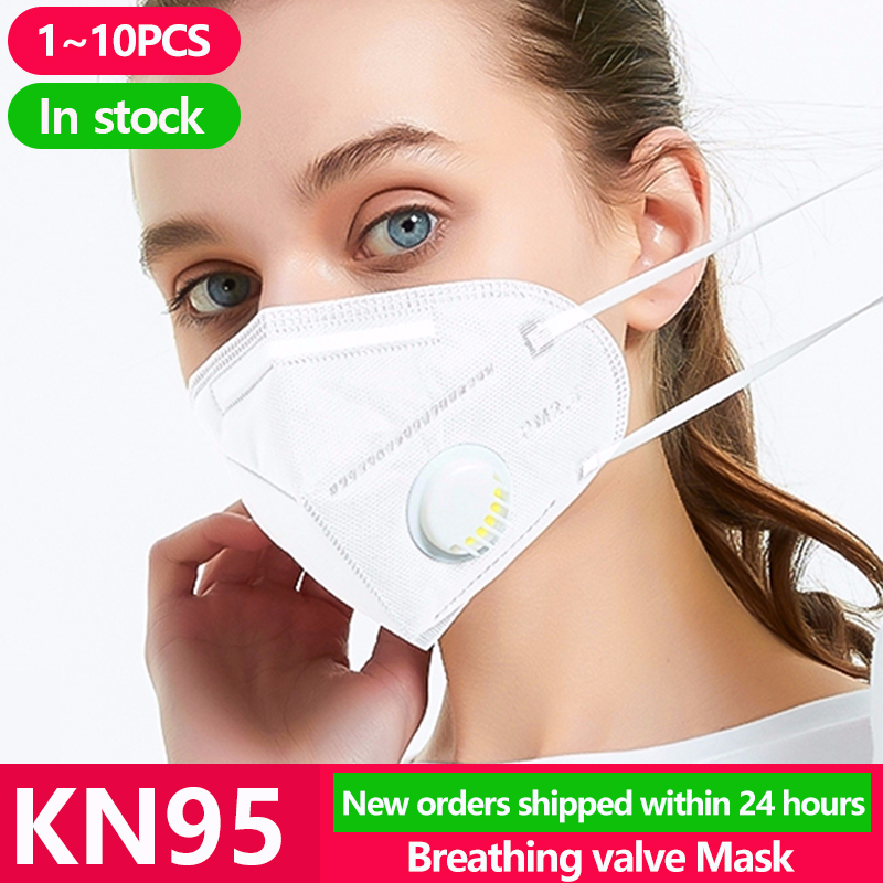 1~20PCS KN95 Protection Face Masks Anti Mouth Flu Facial Dust Filter Cover Respirator Pm2.5 Mask N95 Ffp2 FFP3 KF94 N 95 FPP3
